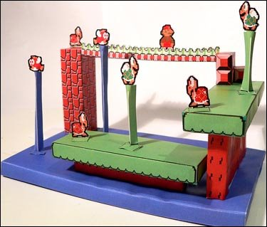 Super Mario Papercradt