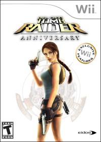 Lara Croft Tomb Raider Anniversary Wiicover