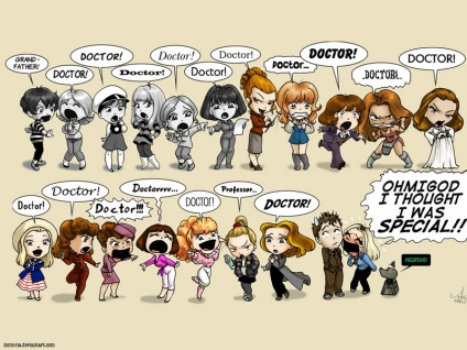 Doctor Who Girls