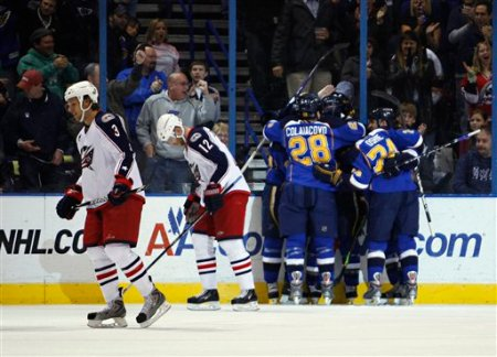 Blue Jackets Blues Hockey