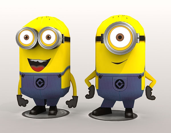 coloring pages despicable me minions. new movie Despicable Me is